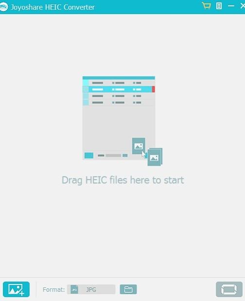 Joyoshare HEIC Converter for Windows pic 1