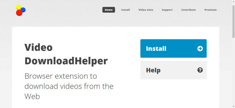 2. Video Download Helper