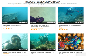 Best Scuba diving for beginners in Goa with mojhi