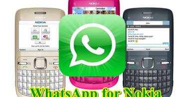 Download Whatsapp for Nokia Asha 200, 201, 301, 302, 305, 310, 515 and all Models