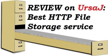 REVIEW on UrsaJ: Best HTTP File Storage service