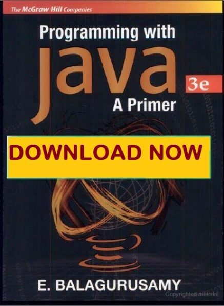 Java book by e balaguruswamy pdf 6 mb latest edition pdf e balaguruswamy java pdf programming book free download fandeluxe Image collections