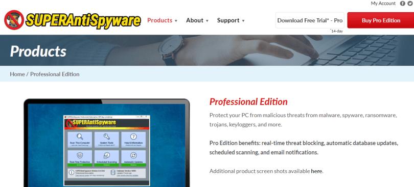 4. SuperAntispyware