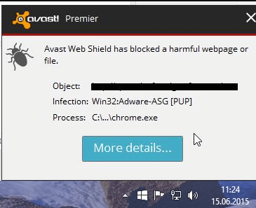 5. Avast Adware removal tool