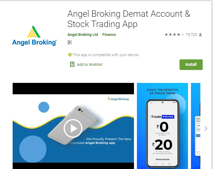 7. Angel Broking App