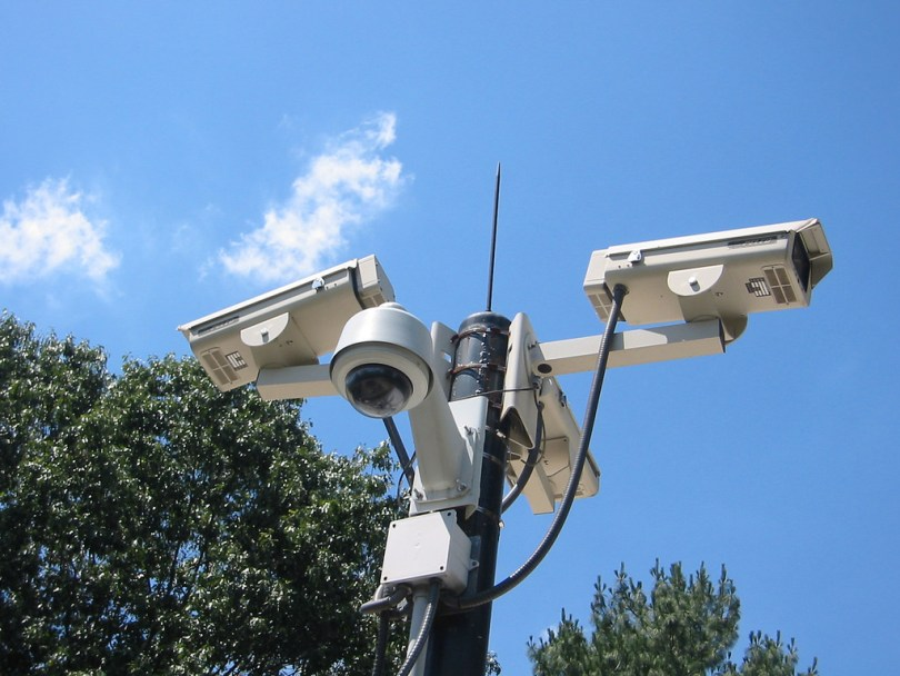 How the security cameras work?