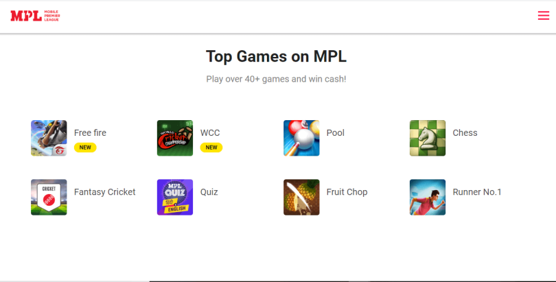 9. Mobile Premier League (MPL)