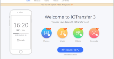 IoTransfer 3 – Transfer Music From Ios Device To Window PC