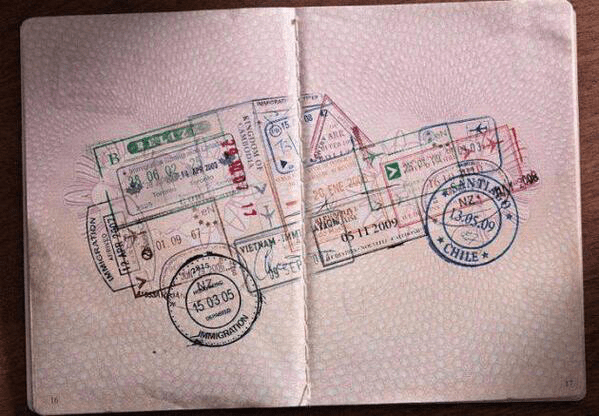 Land Rover Defender tampon visa - Programmatique