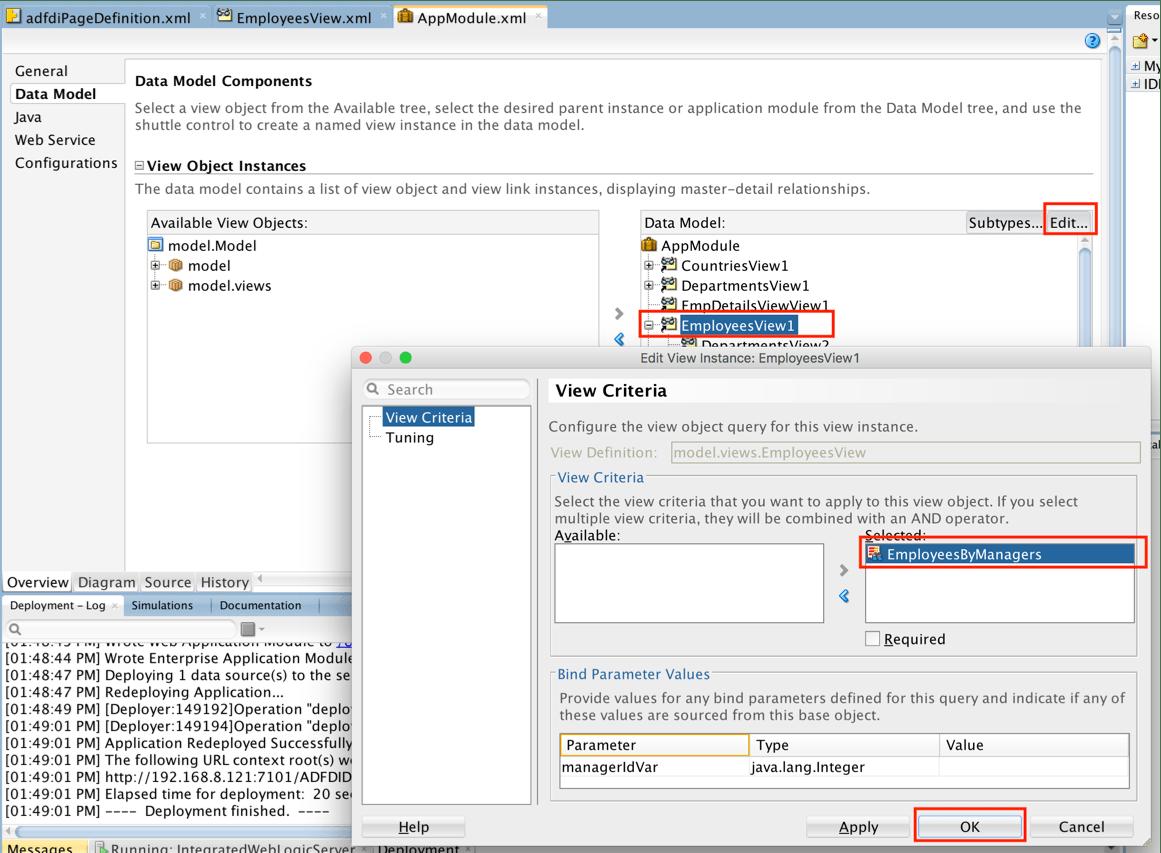 How To Pass A Parameter To Adf Desktop Integration Adfdi
