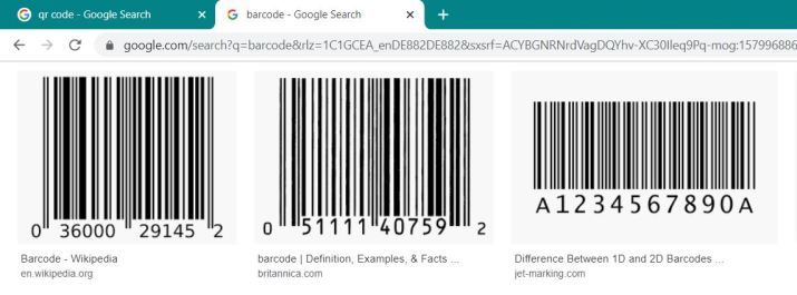 Sample Barcode from Google