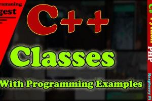 C++ class