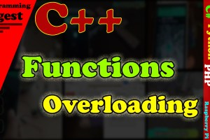 Functions Overloading