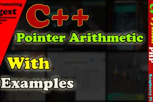 pointer arithmetic in c++