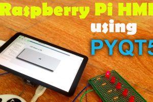 Raspberry Pi HMI