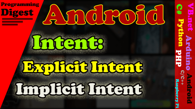 Android Intent