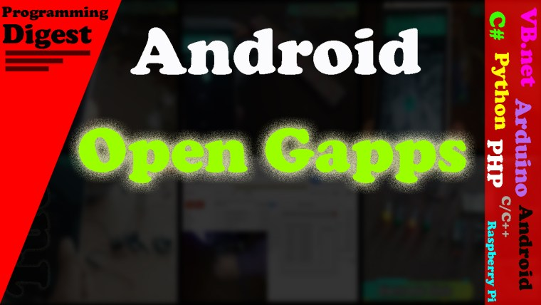 open gapps mirror