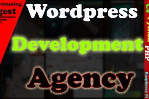 wordpress development agency