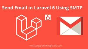 Send Email in Laravel 6