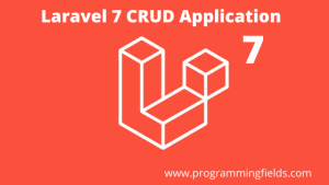 Laravel 7 CRUD Application