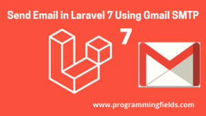 Send mail in Laravel 7