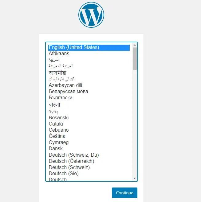 install wordpress in localhost