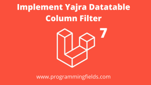 Yajra Datatable column Filter