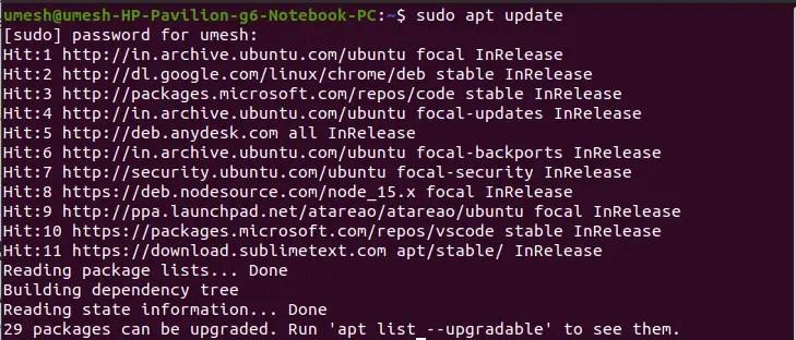APT Updates in Ubuntu