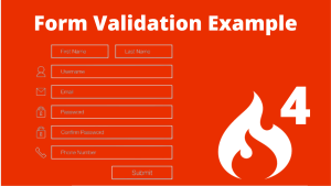 form validation in codeigniter 4
