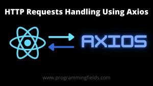 Axios React API Request handling