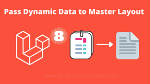 Pass dynamic data to master layout