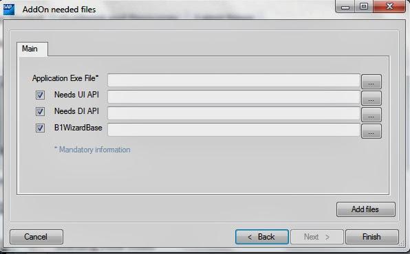 SAP B1 Addon ard create 4