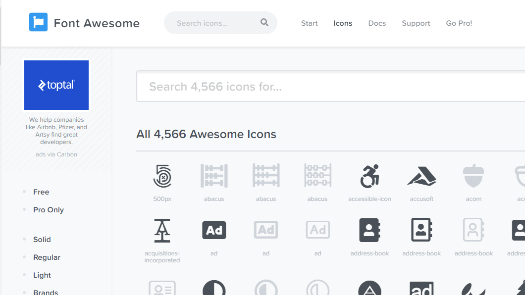 Font Awesome 5 with React - Programming with Mosh