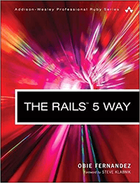 Ruby on Rails Book by Obie Fernandez