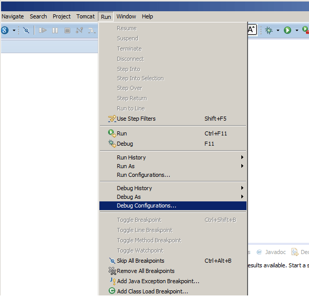 Remote debugging of tomcat using eclipse - Program Talk