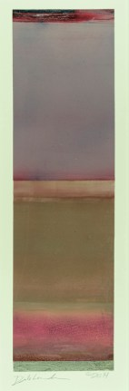 """Untitled (Purple Top)"", 2014, oil on Yupo paper, 15.5 x 4.5"""
