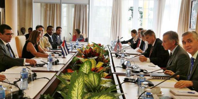 Primera ronda de la Comisión bilateral Cuba-Estados Unidos