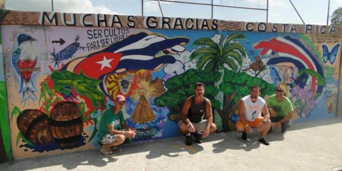 Alegría contagia a cubanos