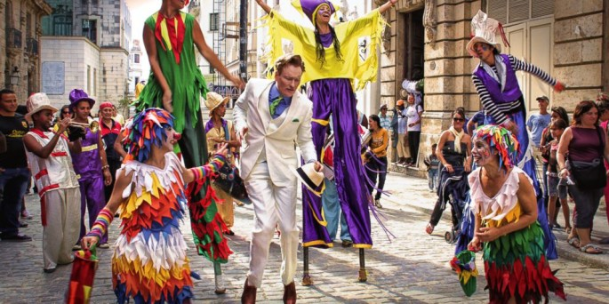 Conan O'Brien takes his show to Cuba for a special hour