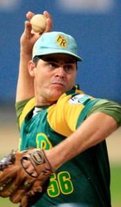 Pitcher Yosvani Torres