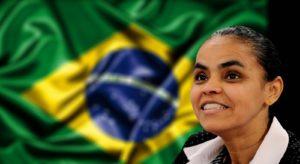 Presidential candidate Marina Silva.