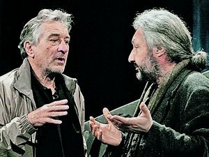 Stas Namin and Robert DeNiro.
