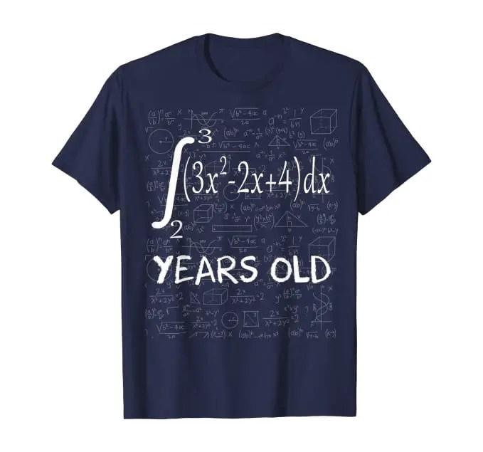 T shirt maths