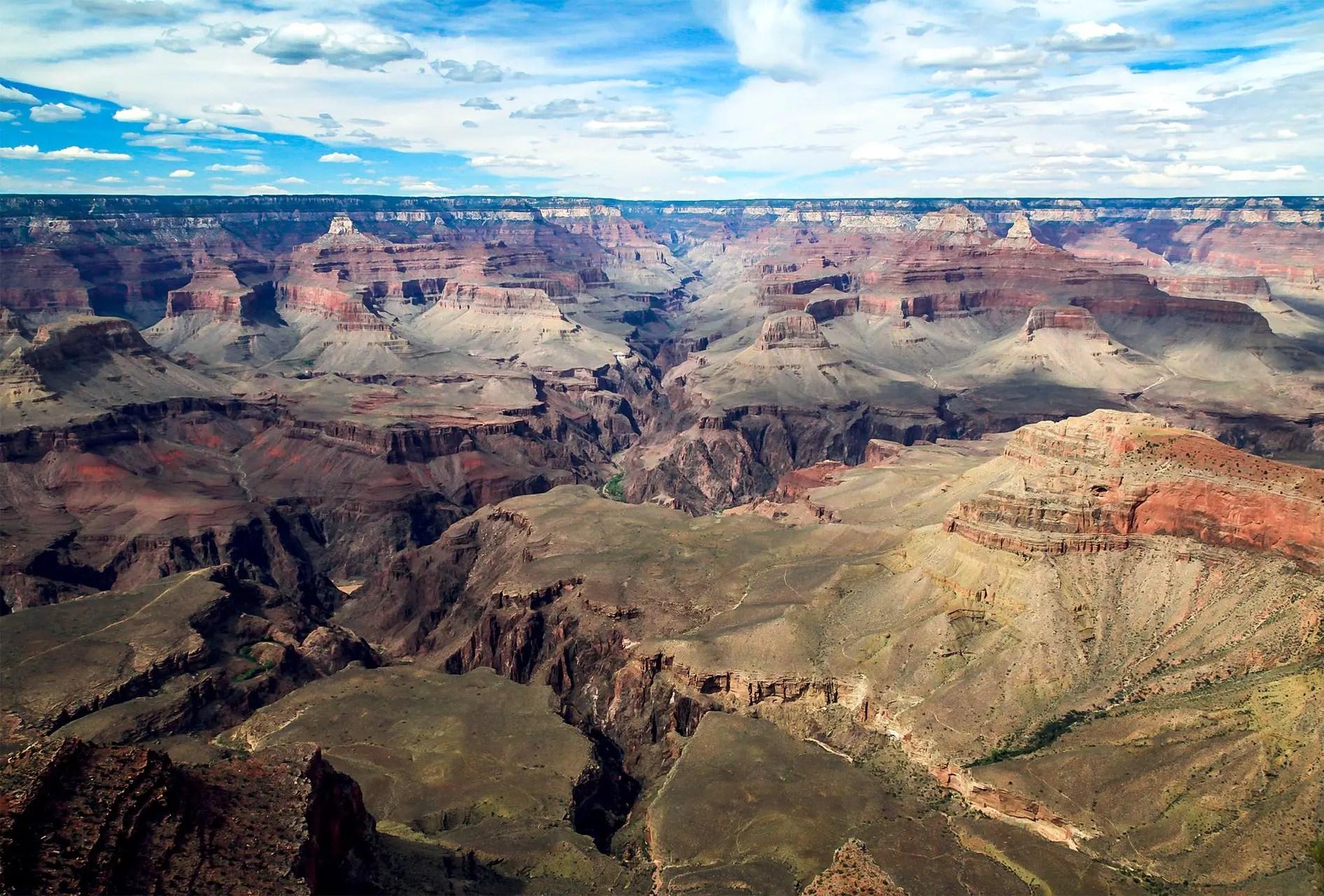 Grand canyon ordre de grandeur