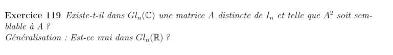 A^2 semblable à A