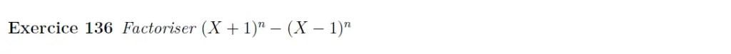 Centrale polynômes