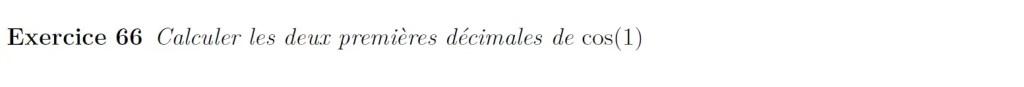 Un petit calcul d'approximation