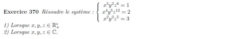 Equation non linéaire