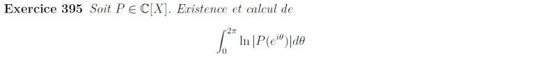 Intégrale à calculer