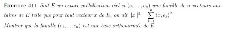 Base orthonormée